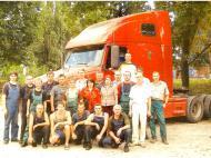 Ремонт тягача VOLVO (капотника) для североамериканского рынка
